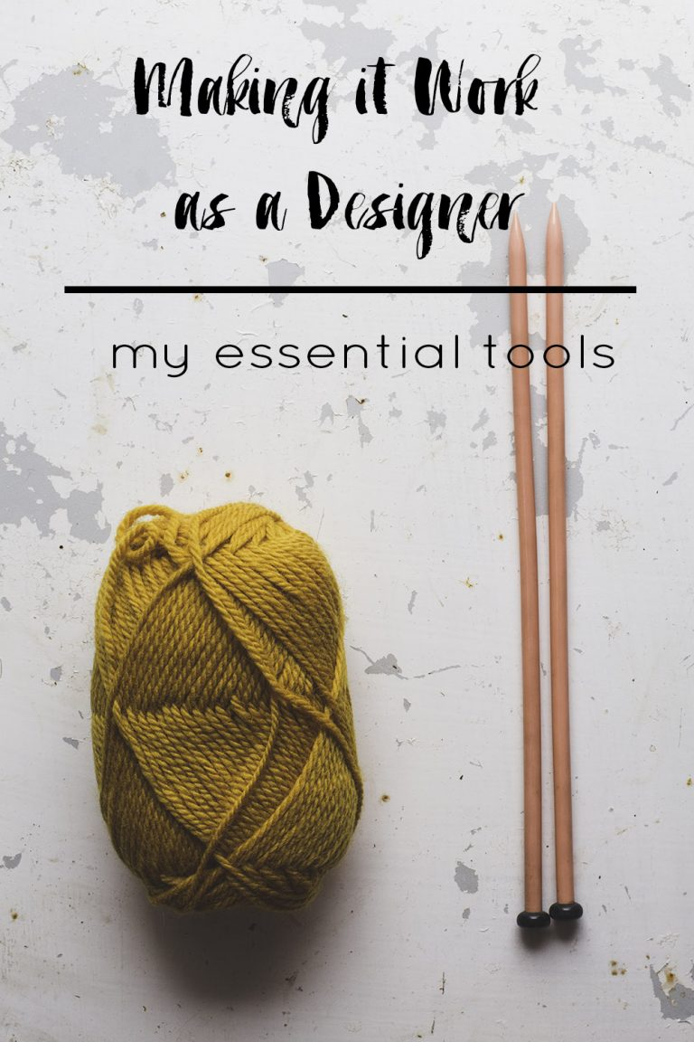 Making It Work As A Designer: My Essential Tools